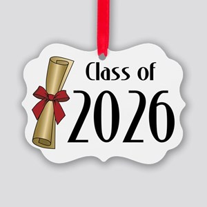 Class of 2026 Diploma Picture Ornament