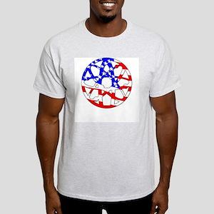 American Atheist T-Shirt (Grey) M