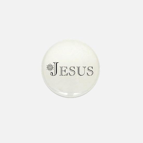 Jesus Mini Button