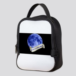 Once in a Blue Moon Neoprene Lunch Bag