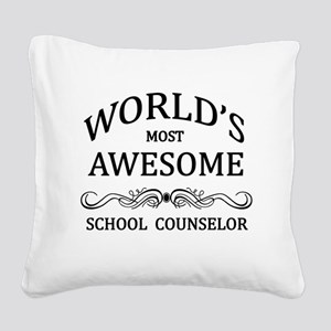 World's Most Awesome School Counselor Square Canva