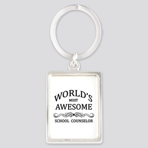 World's Most Awesome School Counselor Portrait Key