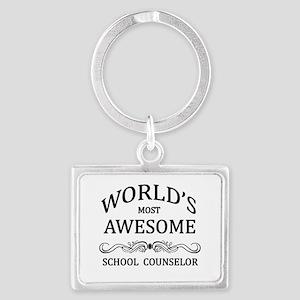 World's Most Awesome School Counselor Landscape Ke