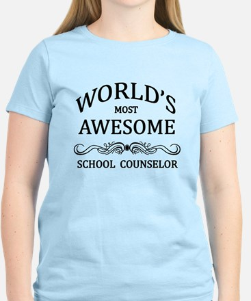 World's Most Awesome School Counselor Women's Ligh