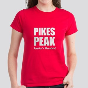 Pikes Peak Americas Mountain Women's Dark T-Shirt