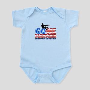 Gone Squatchin USA Infant Bodysuit