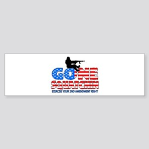 Gone Squatchin USA Sticker (Bumper)