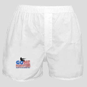 Gone Squatchin USA Boxer Shorts