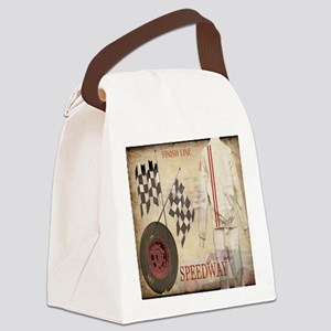Speedway Canvas Lunch Bag