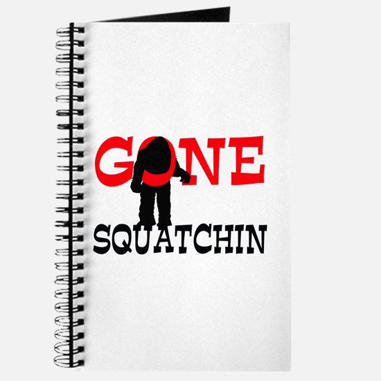 Gone Squatchin Bigfoot Trapped Journal