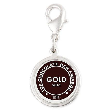 Silver Round Charm - Chocolate Bar Gold Award 2013