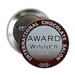 "2.25"" Button (10 pack) Chocolate Award Winner"