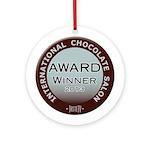 Ornament (Round)- Chocolate Award Winner 2013