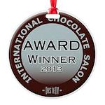Round Ornament- Chocolate Award Winner 2013