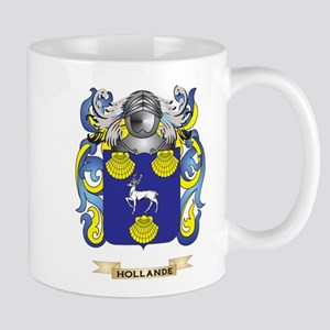 Hollande Coat of Arms (Family Crest) Mug