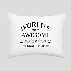 World's Most Awesome 3rd. Grade Teacher Rectangula