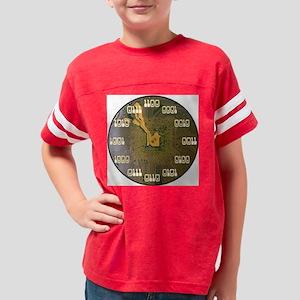 BinarClock2.1 Youth Football Shirt