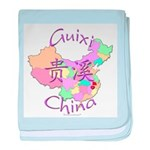 Guixi China baby blanket
