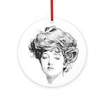 Gibson Girl Ornament
