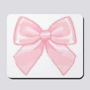 Girly Bow Mousepad