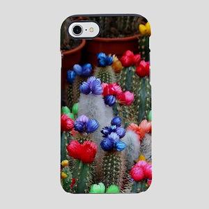 Colorful cacti iPhone 7 Tough Case