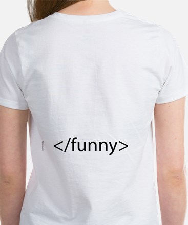 HTML Joke-Funny Women's T-Shirt