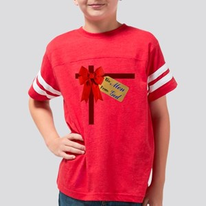 TO MEN FROM GOD 10x10-001-121 Youth Football Shirt