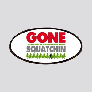 Bigfoot Hiding In Woods Gone Squatchin Patches