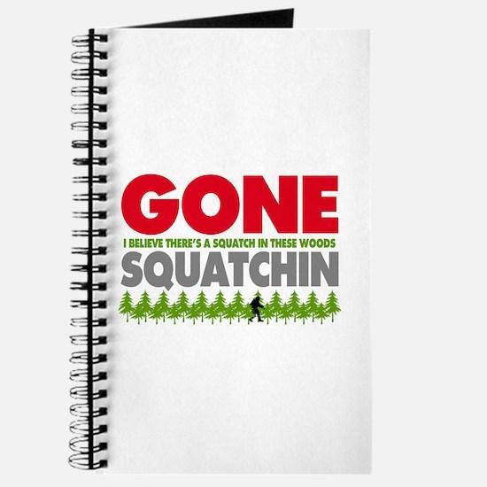 Bigfoot Hiding In Woods Gone Squatchin Journal
