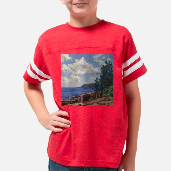 Afternoon in Acadia Youth Football Shirt