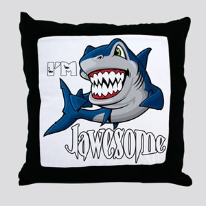 I'm Jawesome Throw Pillow