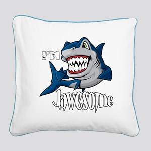I'm Jawesome Square Canvas Pillow