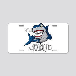 I'm Jawesome Aluminum License Plate