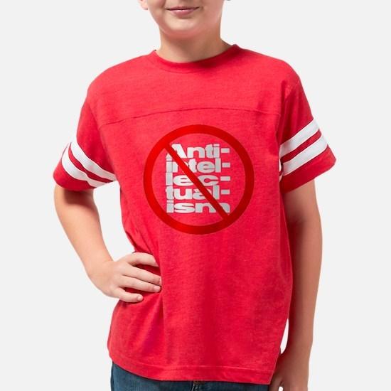 antiintellectualismBlk Youth Football Shirt