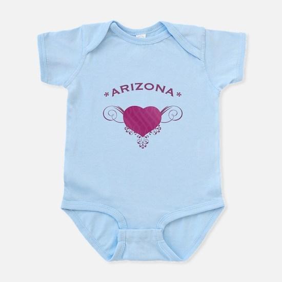 Arizona State (Heart) Gifts Infant Bodysuit