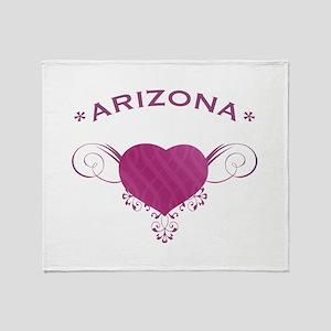 Arizona State (Heart) Gifts Throw Blanket