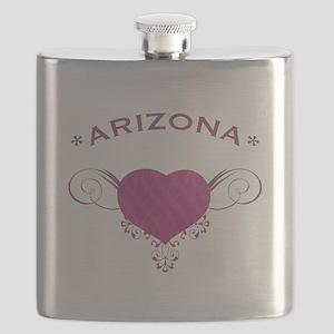 Arizona State (Heart) Gifts Flask