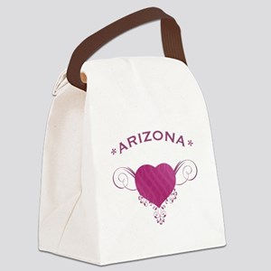 Arizona State (Heart) Gifts Canvas Lunch Bag