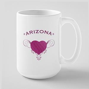Arizona State (Heart) Gifts Large Mug