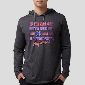 99 Mens Hooded Shirt