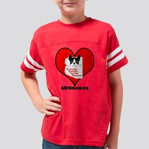 AZBTR Heart - Mylar balloon Youth Football Shirt