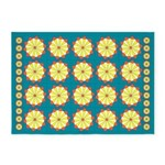 Field Of Daisies 0 5'x7'Area Rug