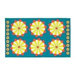 Field Of Daisies 0 3'x5' Area Rug