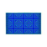 Blue Star 1 3'x5' Area Rug