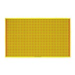 Yellow Latticework 3 3'x5' Area Rug