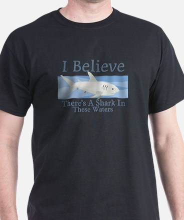 Shark In These Waters T-Shirt