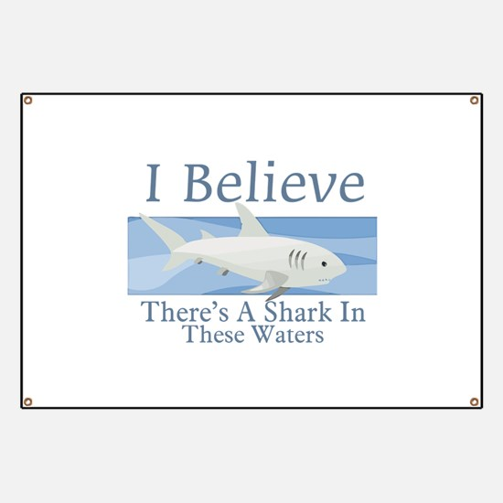 Shark In These Waters Banner
