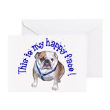 English bulldog Greeting Cards (10 Pack)