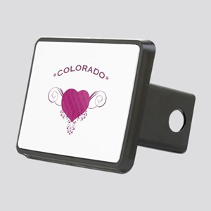 Colorado State (Heart) Gifts Rectangular Hitch Cov