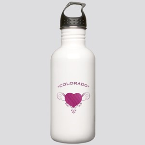 Colorado State (Heart) Gifts Stainless Water Bottl